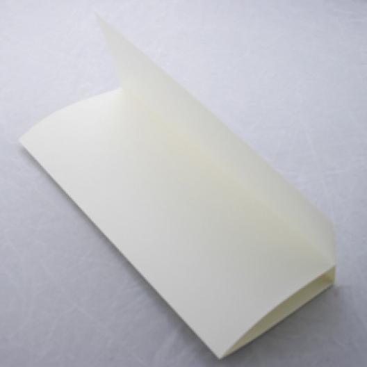 Tri-Fold Brochure 8-1/2x11 Classic Linen Natural Wht 100/pkg