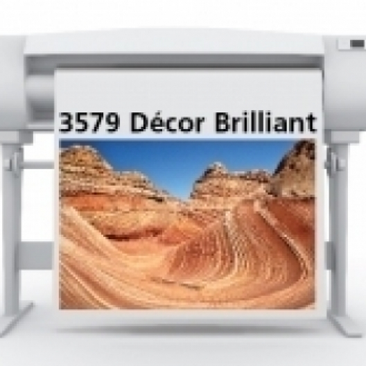 SIHL 3579 Decor Brilliant Matte Canvas 15mil 36in x 40ft 2in/core 1/case