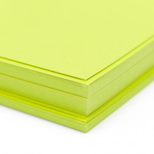 So Silk Cover Shocking Green 8-1/2x14 92lb/250g 100/pkg
