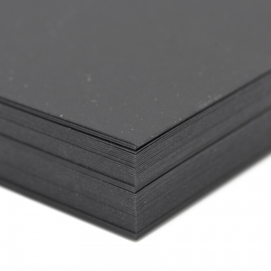 Curious Skin Black 12x18 100lb/270g Cover 100/pkg