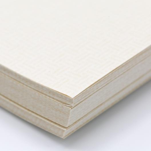Tan 8-1/2x11-24lb Basketweave Security Paper 500/pkg