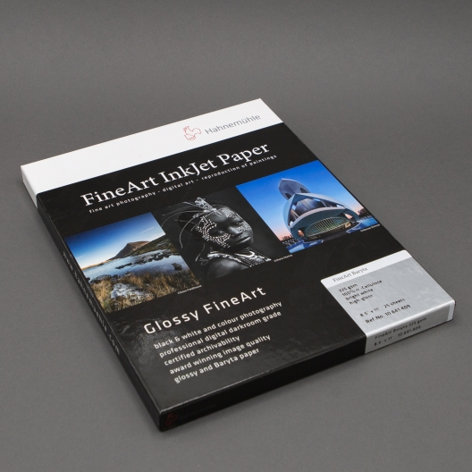Hahnemuhle FineArt Baryta 8-1/2x11 325gsm 25/pkg