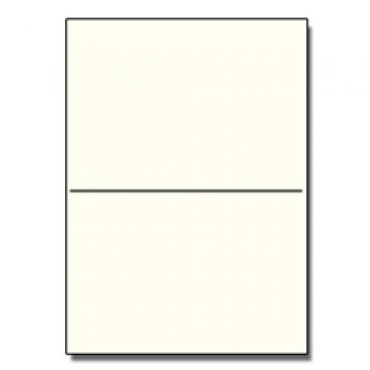 Half-Fold Brochure 8-1/2x11 67lb Exact Cream 250/pkg