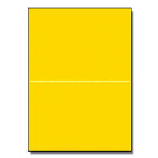 Perf at 5-1/2 Astro 65lb Cover Solar Yellow 8-1/2x11 250/pkg