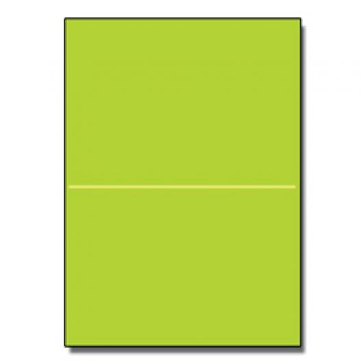 Perf at 5-1/2 Astro 65lb Cover Terra Green 8-1/2x11 250/pkg