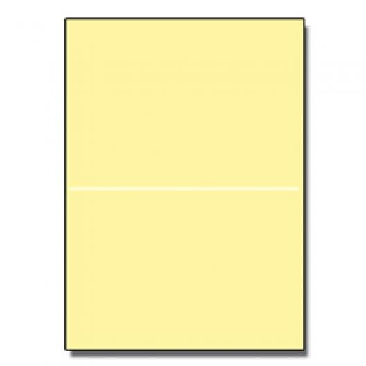 Perforated at 5-1/2 Exact Yellow 8-1/2x11 24lb 500/pkg