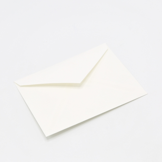 Crane's Lettra Fluorescent White A2 Envelope Pointed Flap 50pkg