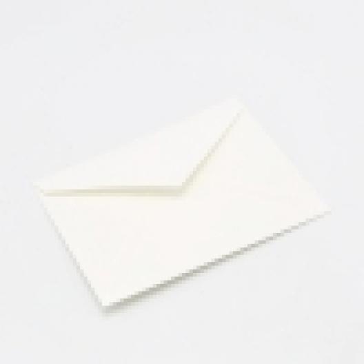 Crane's Lettra Fluorescent White A1 Envelope Pointed Flap 50pkg