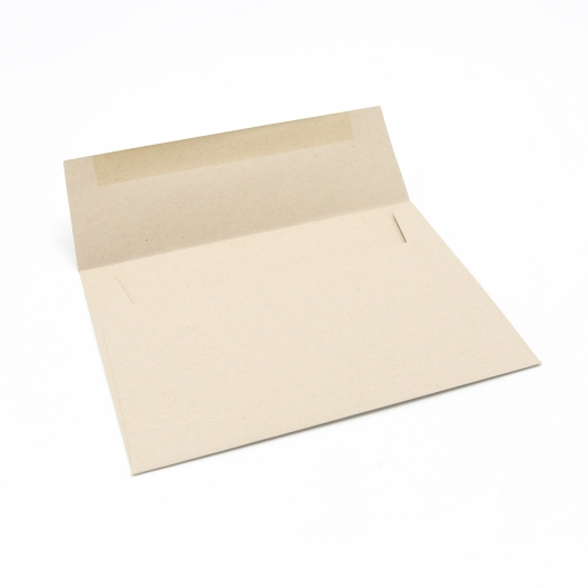 Paperworks Elements Paperbag A6 Square Flap Envelope Text 50/Pkg
