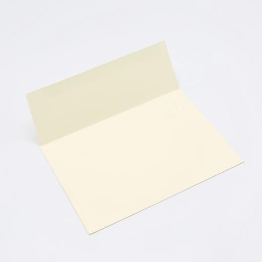 Crane's Lettra Ecru A9 Envelope Square Flap 50pkg