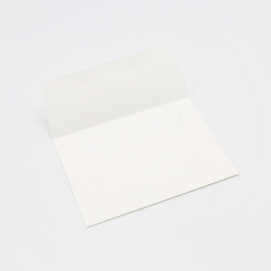 Crane's Lettra Fluorescent White Envelope A9 Square Flap 50/pkg