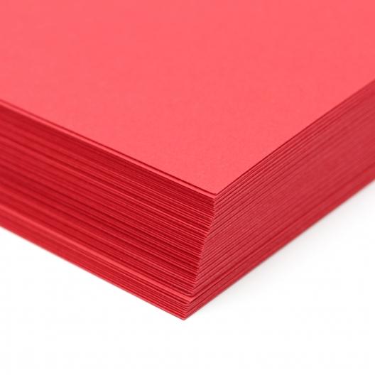 Classic Laid Cover Red Pepper 18x12 100lb/270g 125/pkg