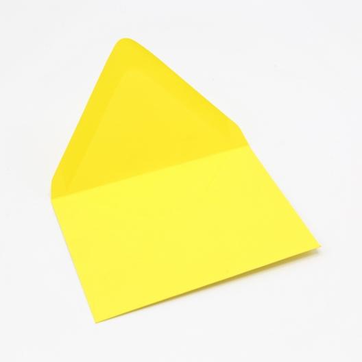 Colorplan Factory Yellow A2 Envelope 50pk