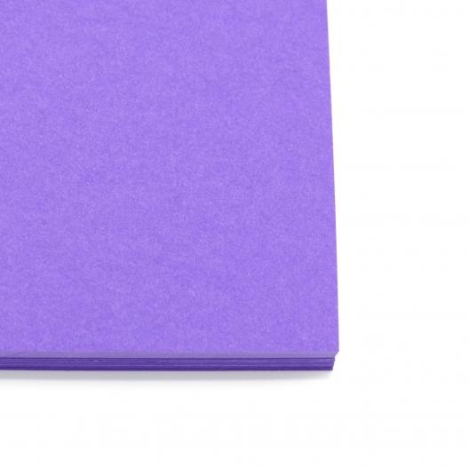 Colorplan Purple 8.5x11 130lb cover 48pk
