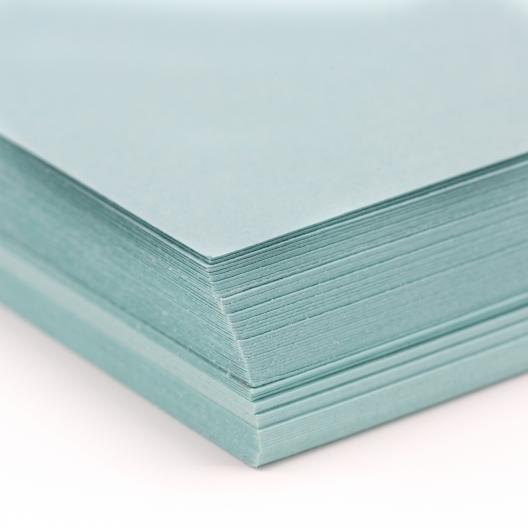 Basis Premium Cover 8-1/2x14 80lb Aqua 100/pkg