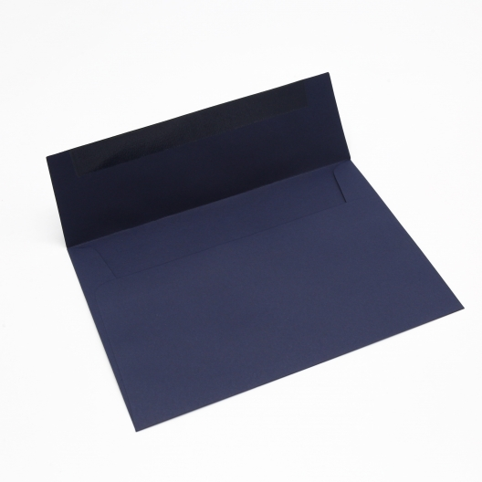 Basis Premium Envelope A7[5-1/4x7-1/4] Navy 50/pkg