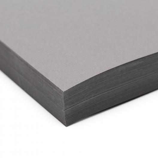 Basis Premium Cover 8-1/2x11 80lb Gray 100/pkg