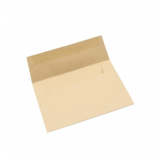 Basis Premium Envelope A6 [4-3/4x6-1/2] Light Brown 50/pkg