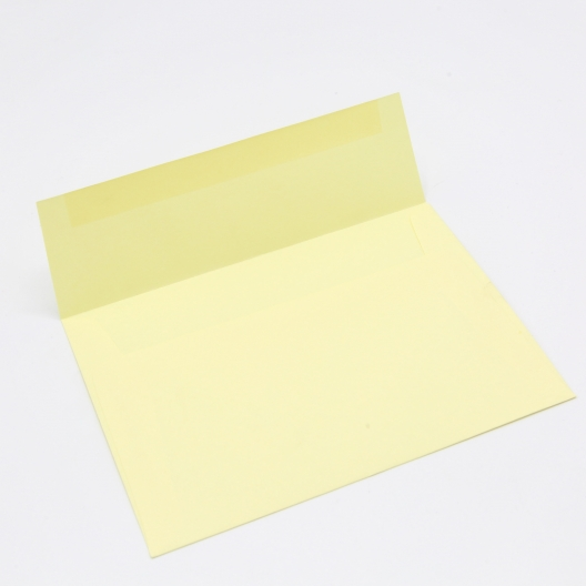 Basis Premium Envelope A7[5-1/4x7-1/4] Light Yellow 50/pkg