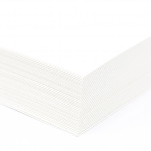 Carbonless CF White 105lb Tag 8-1/2x11 250/pkg