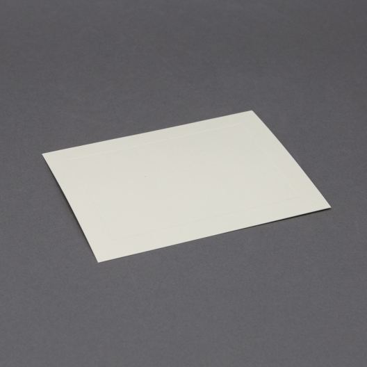 Crest 4 Baronial Cream Panel Card [3-1/2x4-7/8] 250/box