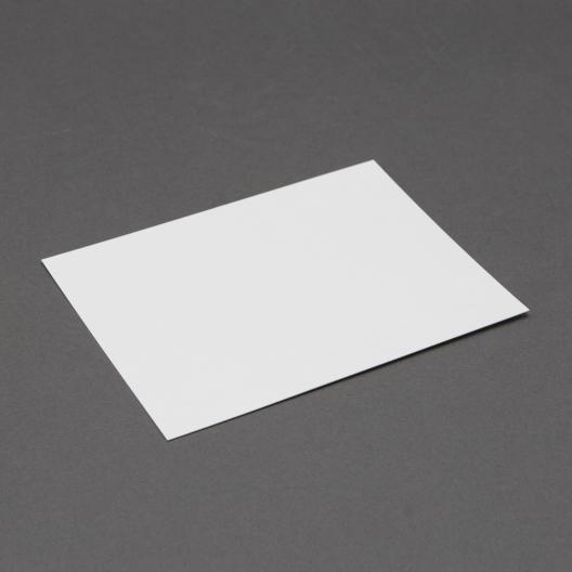 Platinum 6 Bar White Panel Card 4-5/8x6-1/4 250/box