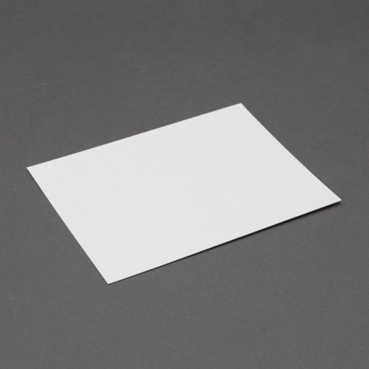 Crest Lee Baronial White Panel Card (5 1/8x7) 250/box