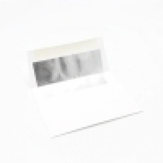 CLOSEOUTS Foil Lined Silver Envelope A-9 [5-3/4x8-3/4] 250/box