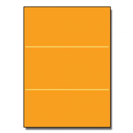 Tri-Fold Brochure 8-1/2x11 65lb Astro Cosmic Orange 250/pkg