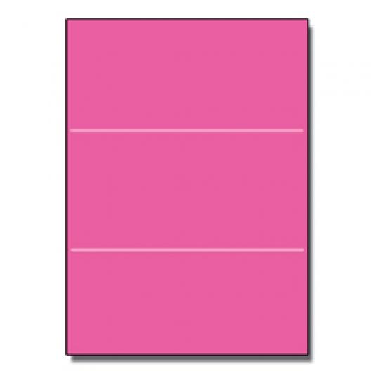 Tri-Fold Brochure 8-1/2x11 65lb Astro Fireball Fuschia 250pk