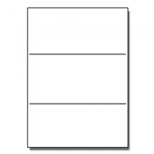 Tri-Fold Brochure 8-1/2x11 65lb Classic Crest Solar Wht 125p