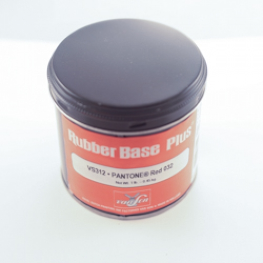 Van Son Rubber Base Plus Flame Red Ink 1lb