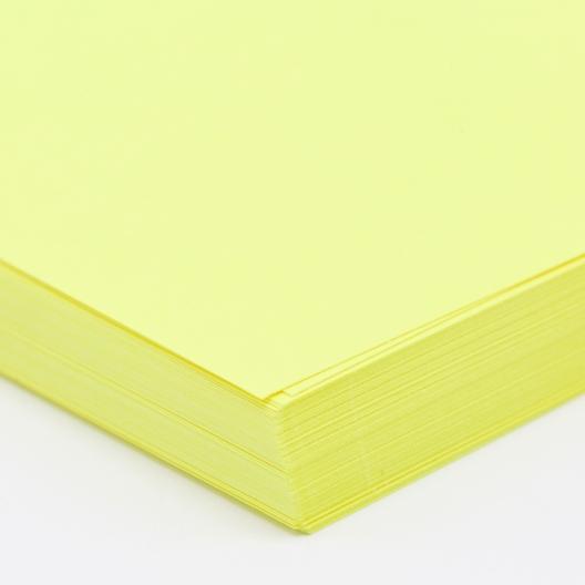 CLOSEOUTS Brite Yellow 8.5x11 24/60lb text 500/pkg