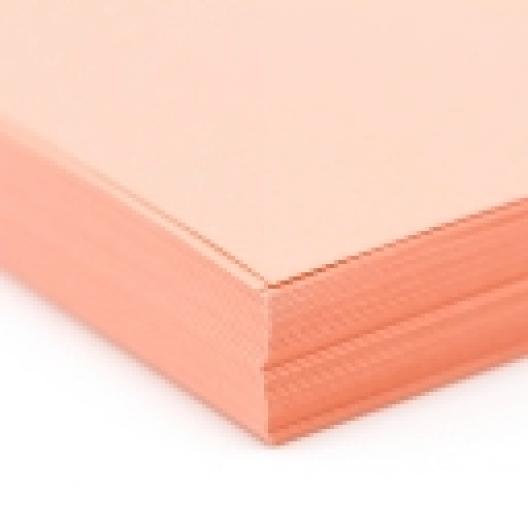 CLOSEOUTS Peach Exact Vellum Bristol 8.5x14 67lb 250/pkg
