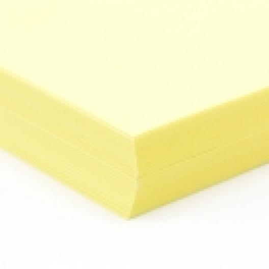 CLOSEOUTS Exact Cover Bright Yellow 8-1/2x11 65lb 250/pkg