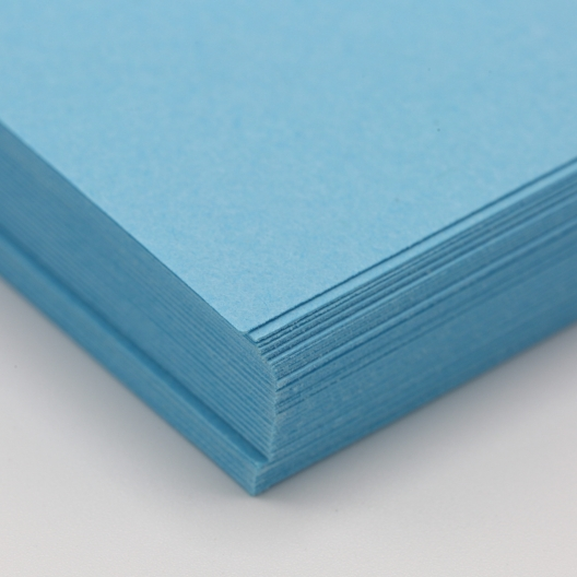 Perf at 5-1/2 Astro 65lb Cover Lunar Blue 8-1/2x11 250/pkg