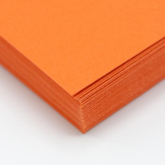 CLOSEOUTS Astrobright Orbit Orange 80lb Cover 8.5x11 250/pkg