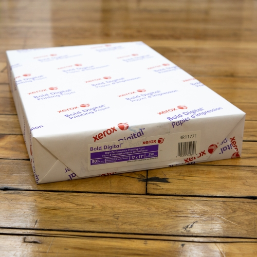 Xerox Bold Digital Cover 17x11 80lb 250/pkg