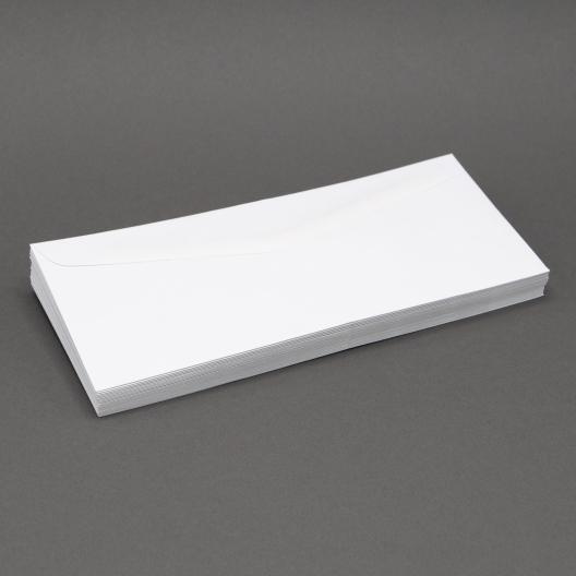White Wove #8-5/8 24lb Window Envelope 500/box