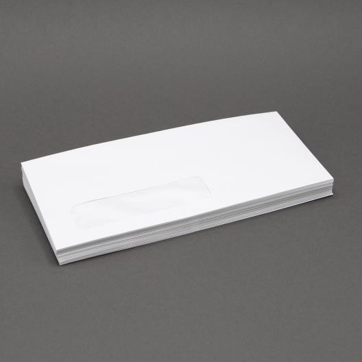 White Wove #10 24lb Window Envelope 500/box