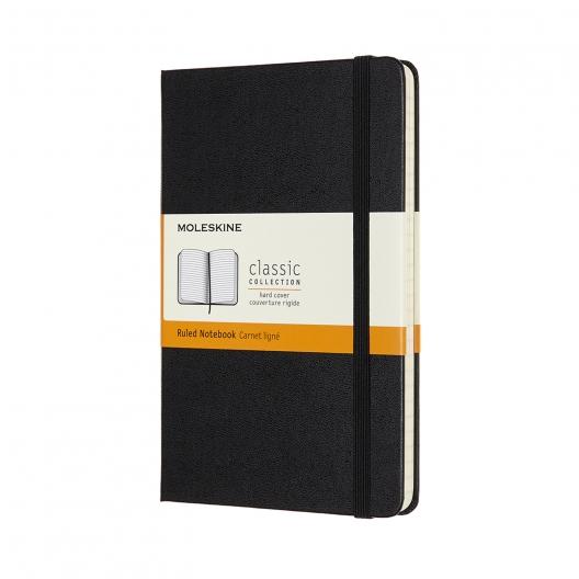Moleskine Journal Black (Large Lined)
