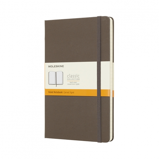 Moleskine Journal Earth Brown (Large Lined)