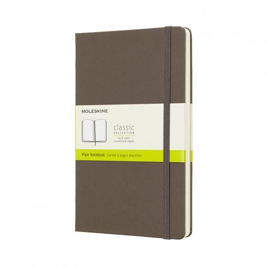 Moleskine Journal Earth Brown (Large Plain)