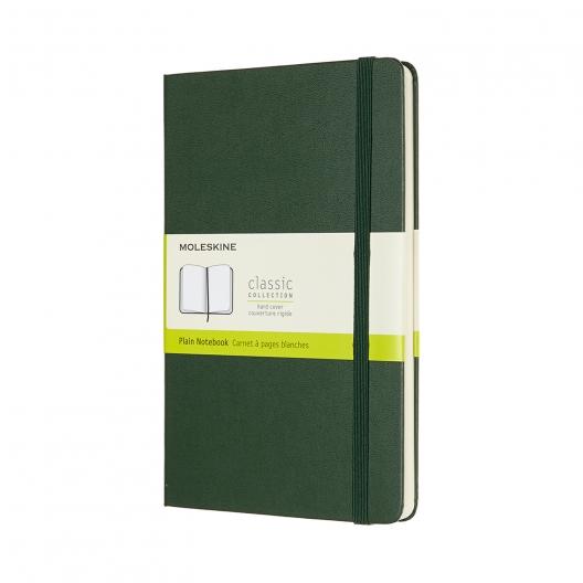 Moleskine Journal Green (Large Plain)