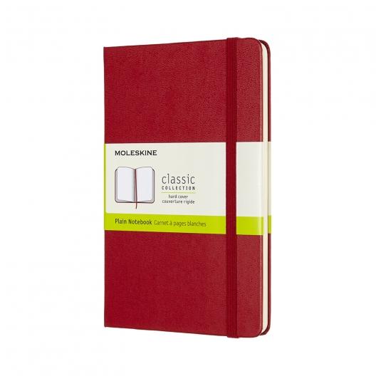 Moleskine Journal Scarlet Red (Large Plain)