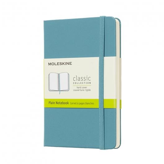 Moleskine Journal Reef Blue (Pocket Plain)