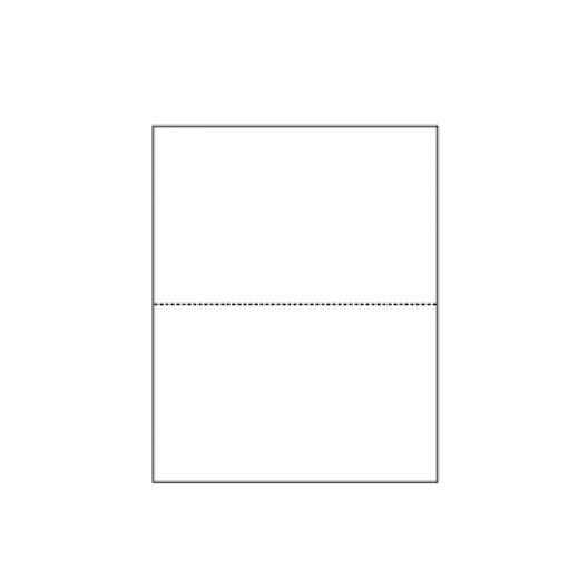 Perforated at 5-1/2 Exact Green 8-1/2x11 24lb 500/pkg