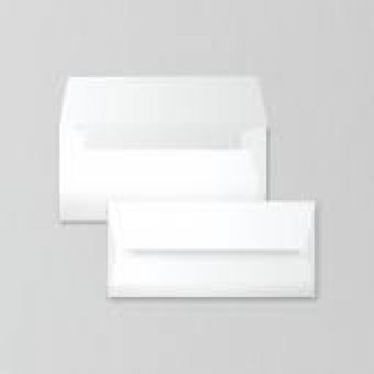 SAVOY Brilliant White Envelope #10 80lb Square Flap 50/pkg