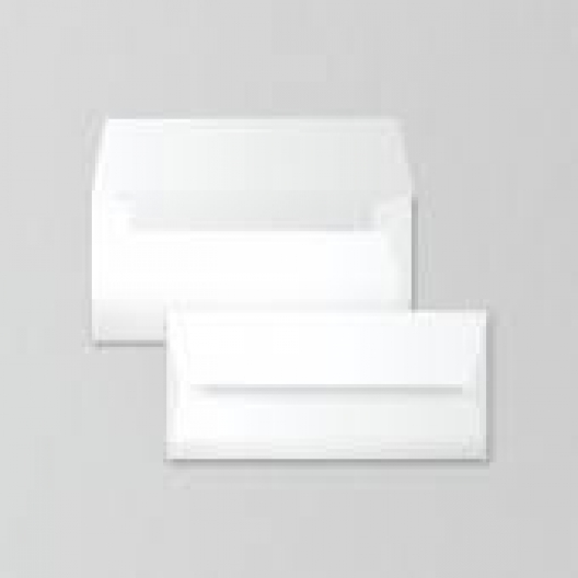 SAVOY Natural White Envelope #10 80lb Square Flap 50/pkg