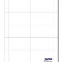 Solar White 65lb Cover Classic Crest Business Cards 10-up 250/pkg